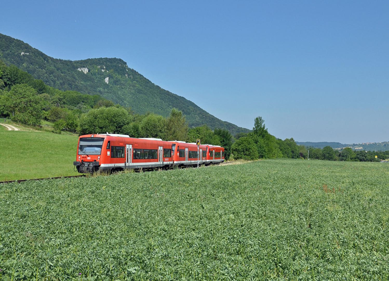 Mit der Bahn zum Bad Uracher Schäferlauf mit.....