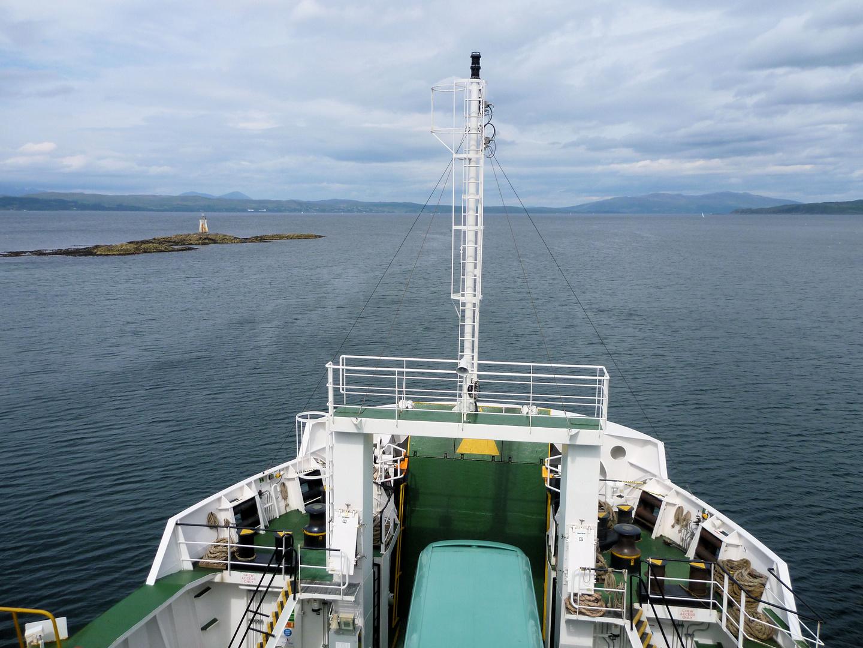 Mit der Fähre zur Insel Skye