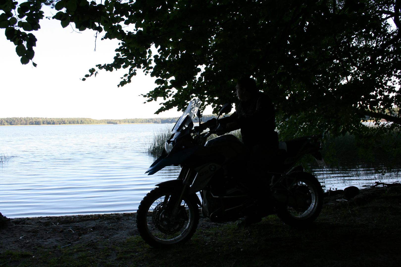 Mit der GS zum See