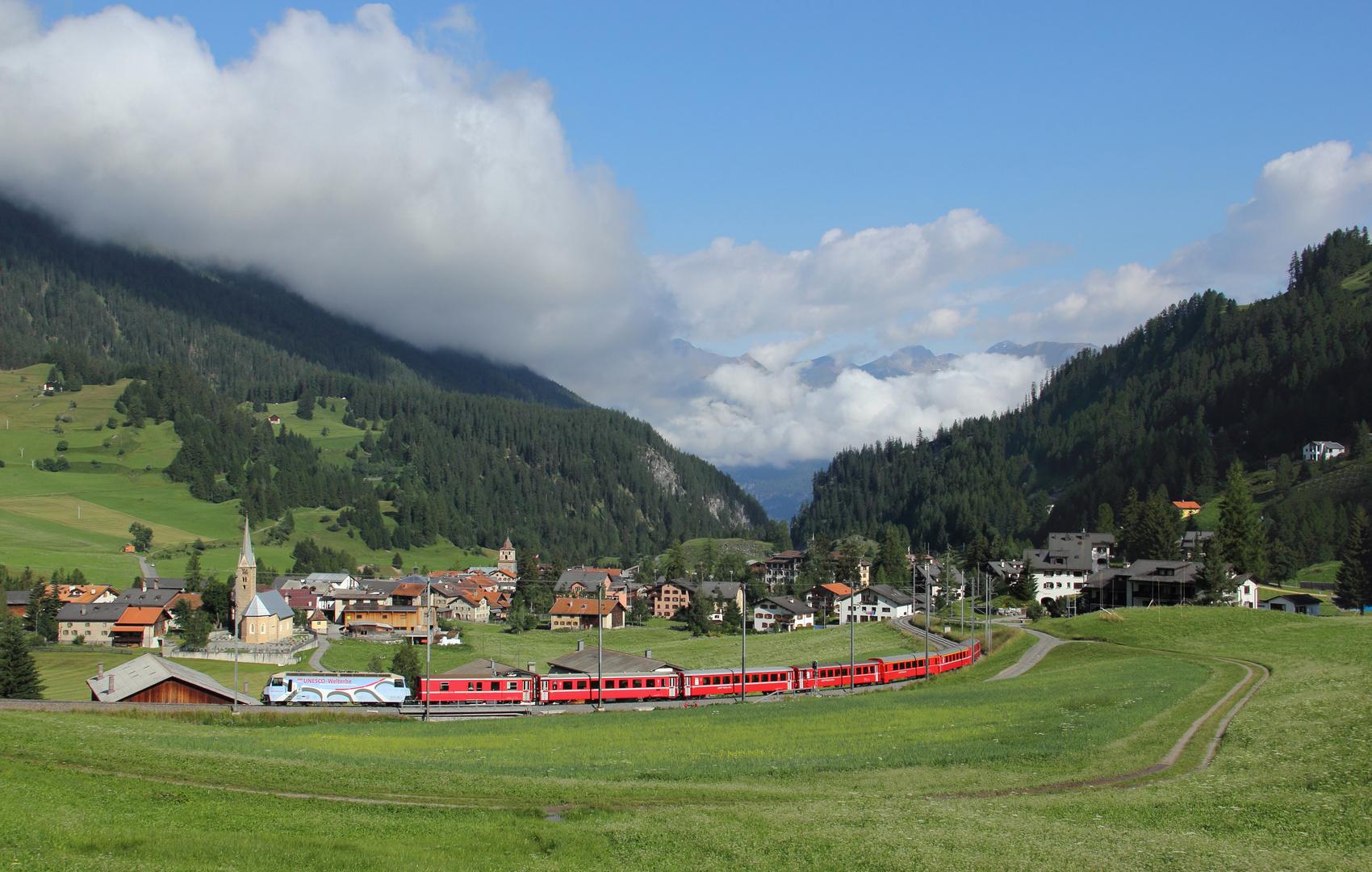 Mit der RhB nach St.Moritz
