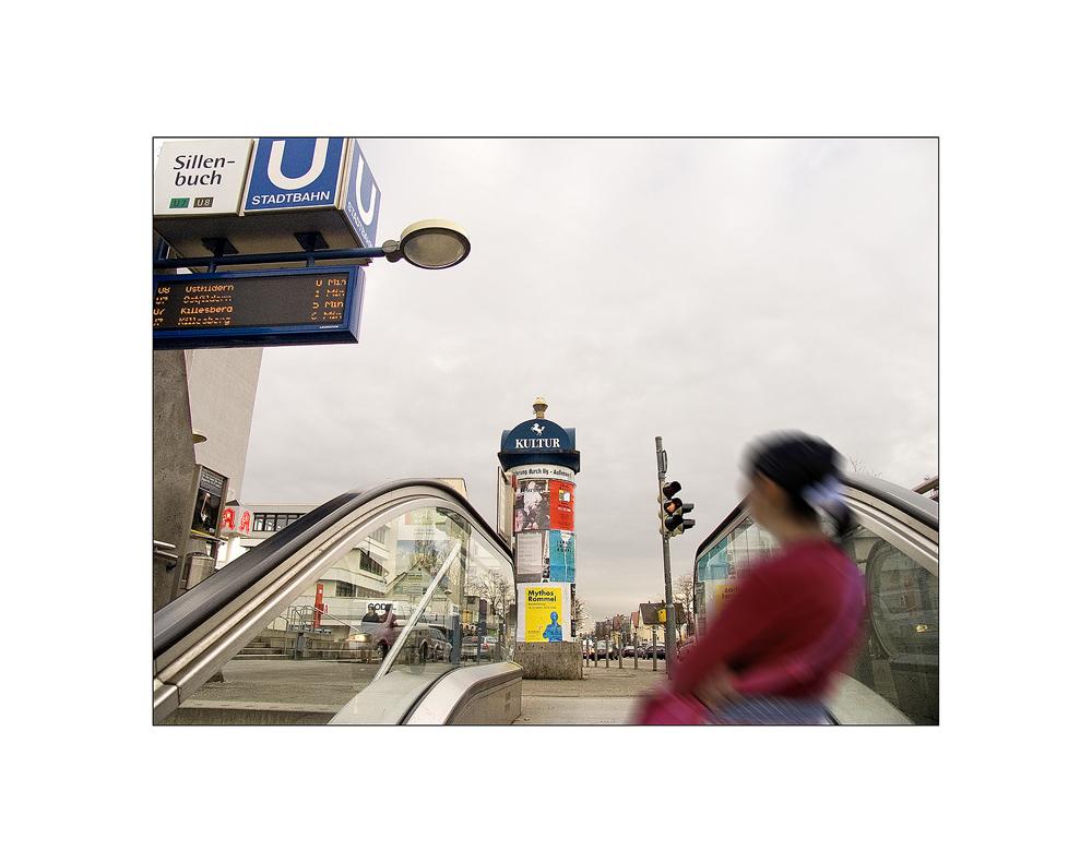 Mit der Stadtbahn nach Sillenbuch