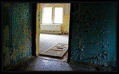 Mit der Tür ins Haus