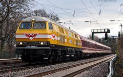 Mit der V320 nach Hamburg