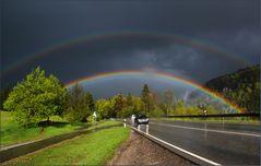 Mit diesem Regenbogen ...