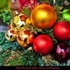 Mit dieser Weihnachtskarte gehe ich....