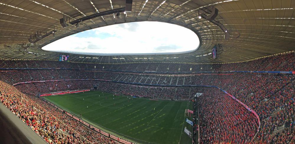 Allianz Arena Eingänge