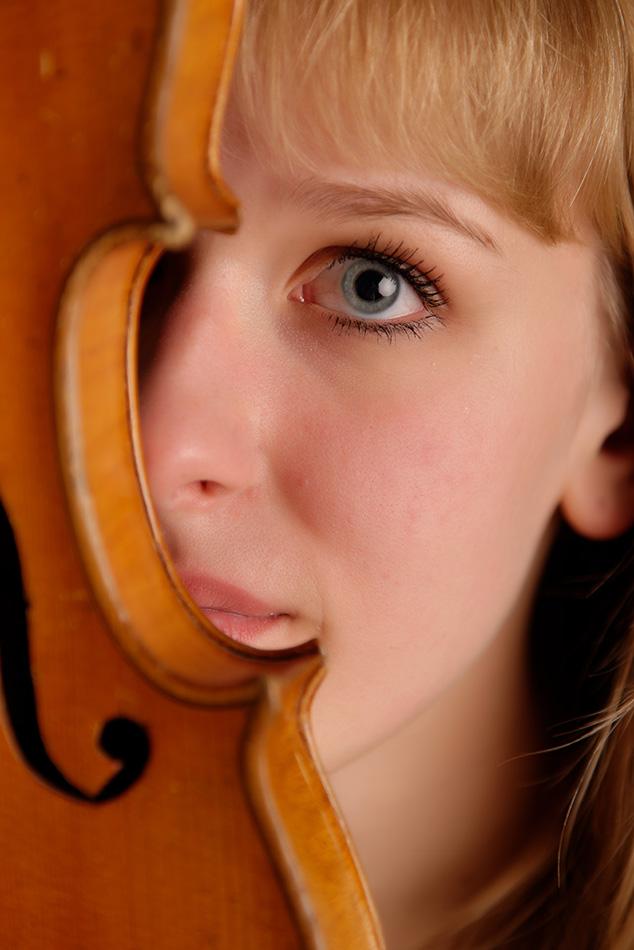mit Geige