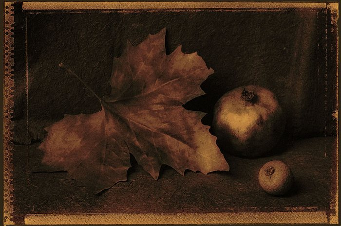 ... mit Granatapfel