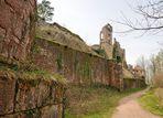 Mit ihrer Schildmauer von 58 m Länge und 12 Meter Stärke, ist die Ruine Neu Scharfeneck......