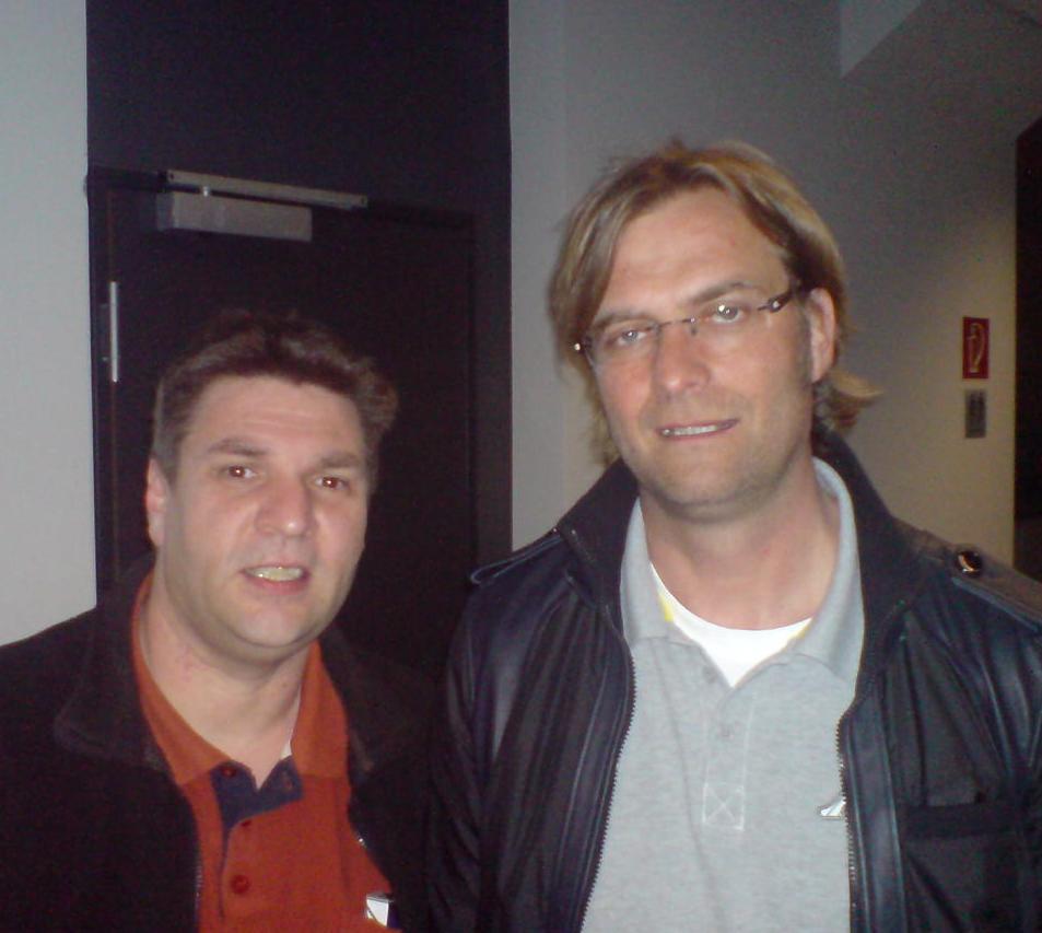 mit Jürgen Klopp