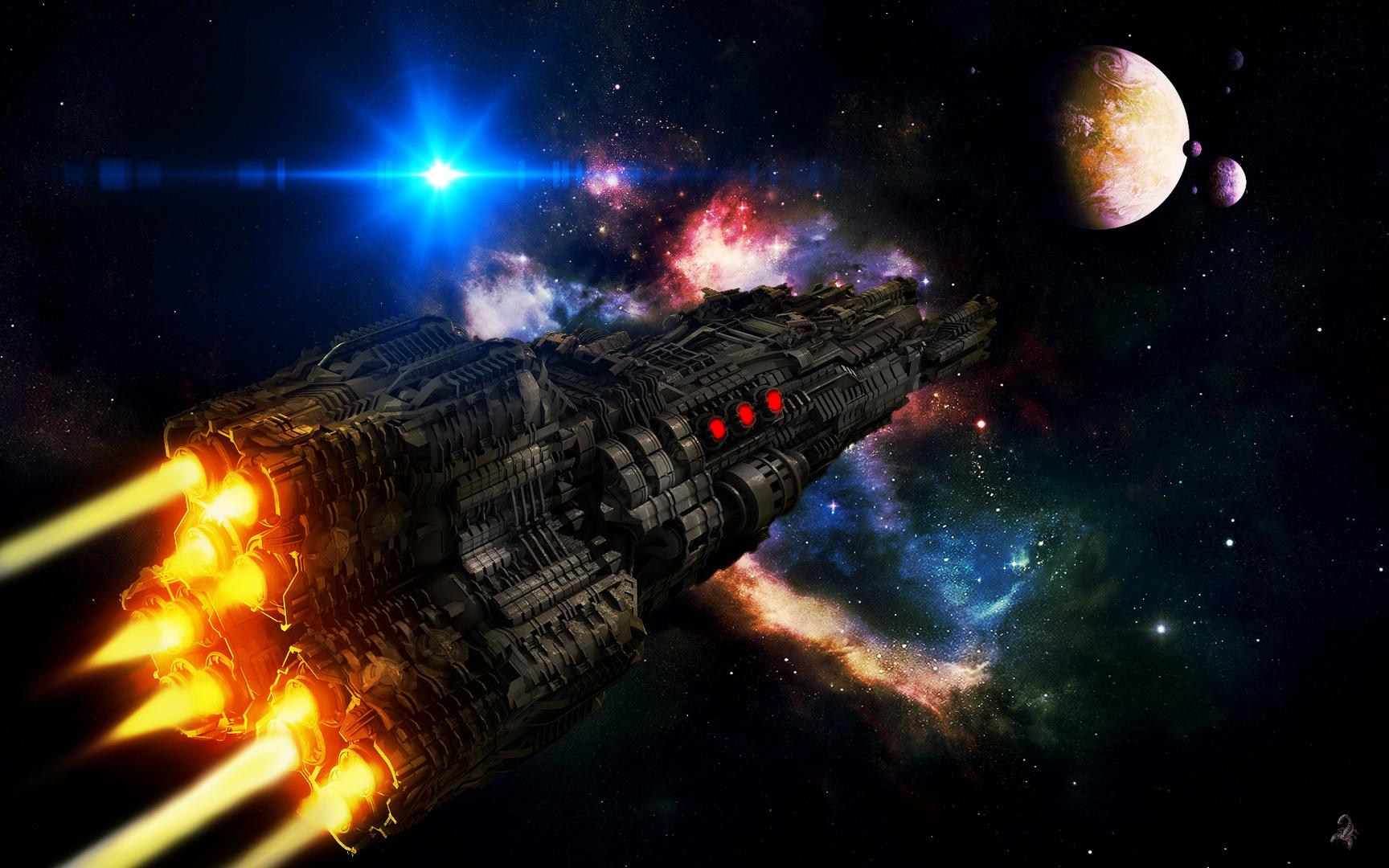 Mit Lichtgeschwindigkeit zu neuen Welten