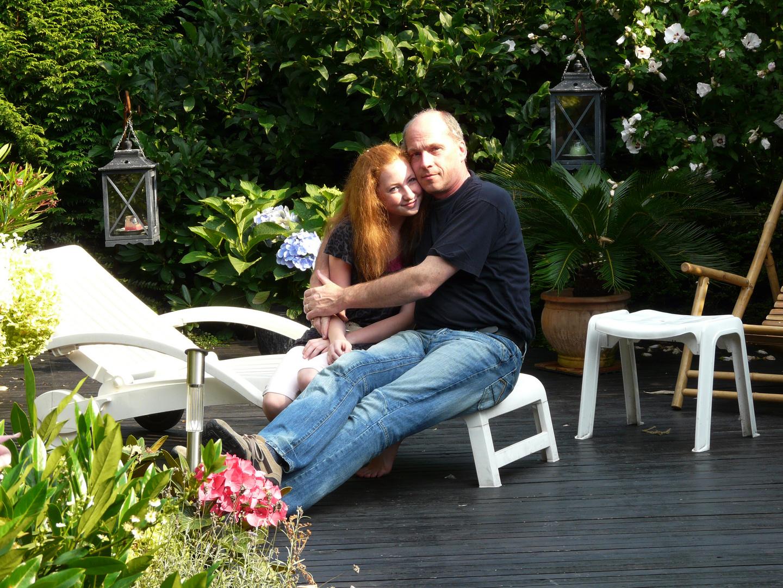 mit meiner geliebten tochter Natalie