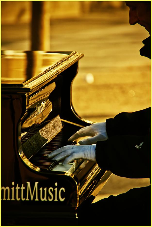 mit Musik, ...
