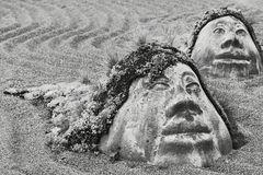 Mit Sand im Auge