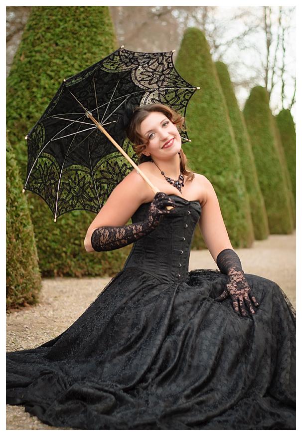 Mit Schirm