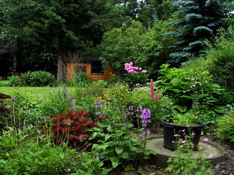 ..mit sehr viel Liebe gepflegt, offene Gartenlandschaft