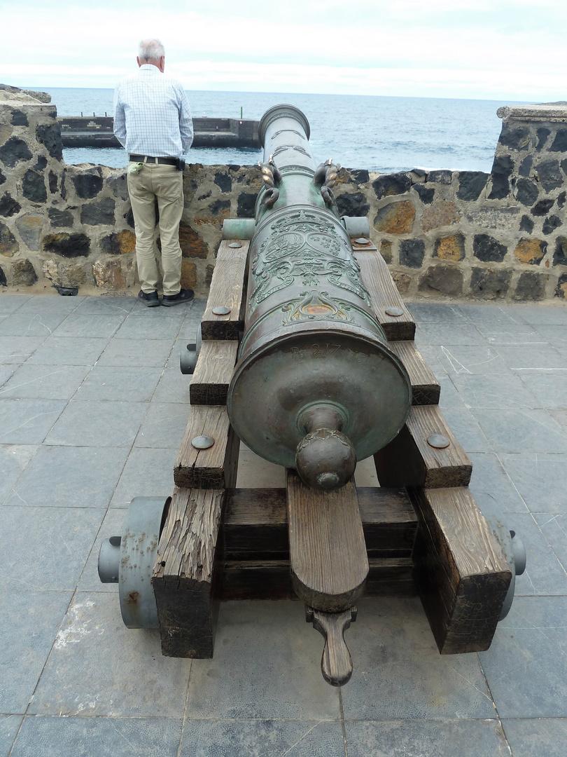 Mit solchen Kanonen...