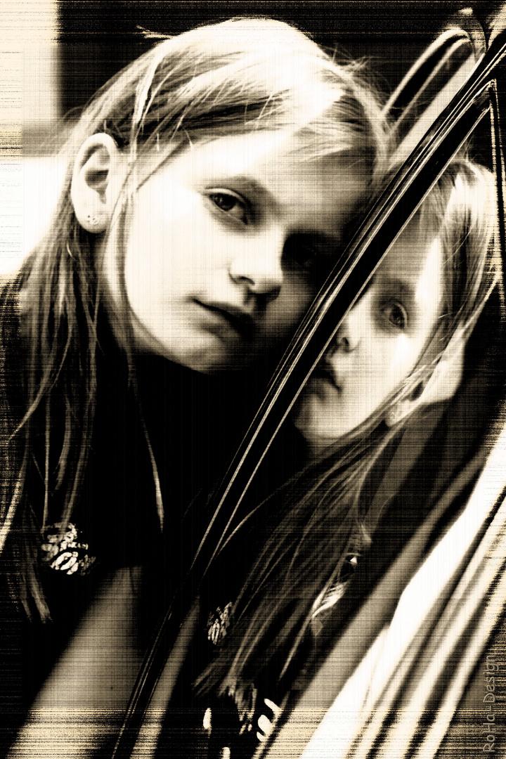 Mit Spiegelbild