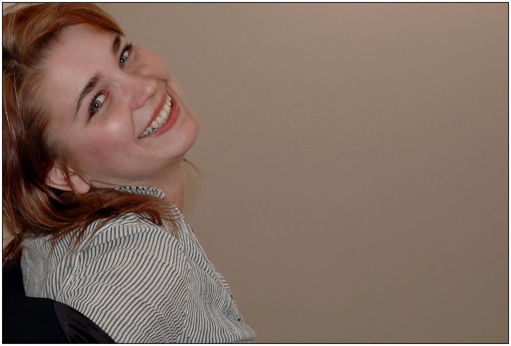 ... mit Yulias Lächeln ...