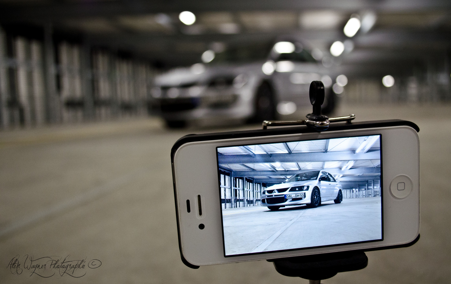 Mitsubishi evo 8 iphone edition