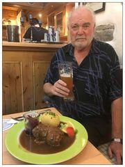 Mittagessen in Friedmann's Braustübl