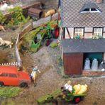 Mittags an der Wassermühle ...