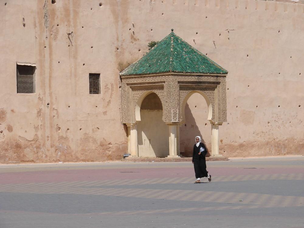 Mittags in Meknès