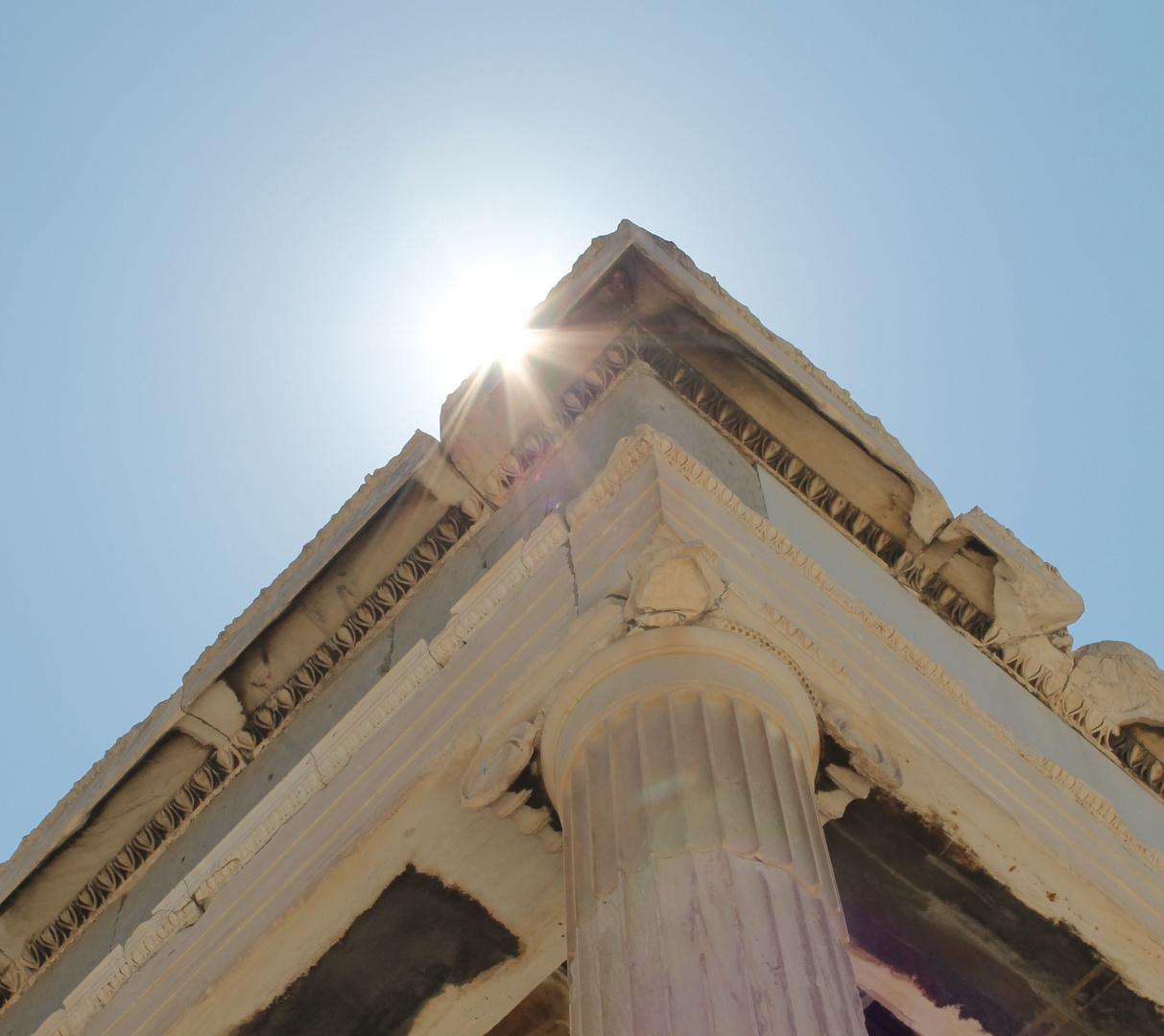 Mittagshitze auf der Akropolis