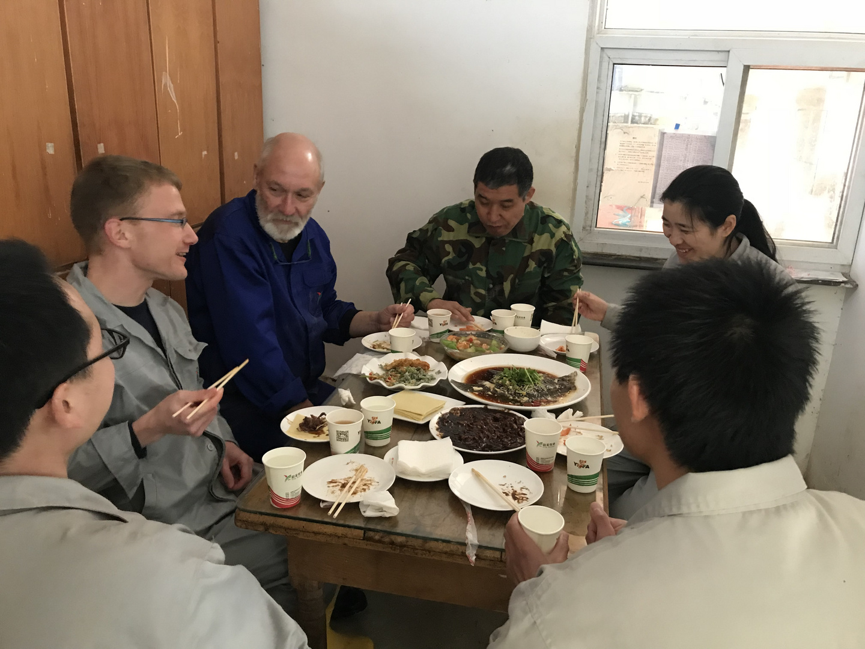 Mittagspause in Henan