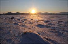 Mittagssonne über Kilpisjärvi