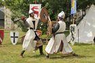 Mittelalter Festival in Egletons, Frankreich 2008. Foto 1.