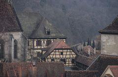 Mittelalterliche Dachlandschaft