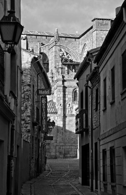 Mittelalterliche Gasse