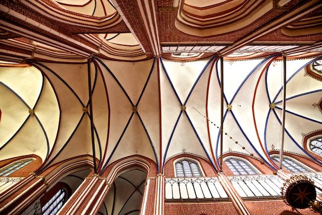 - mittelalterliche Gewölbe -