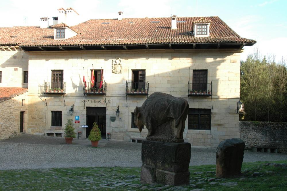 Mittelalterliche Herberge in Spanien
