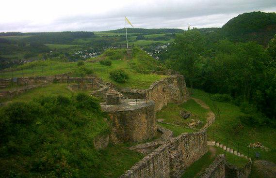 mittelalterliche Ruinen
