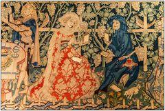 Mittelalterliche Wandgestaltung