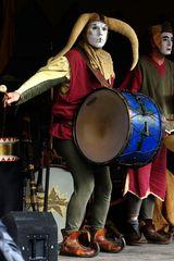 mittelalterlicher Schlagzeuger ;-)