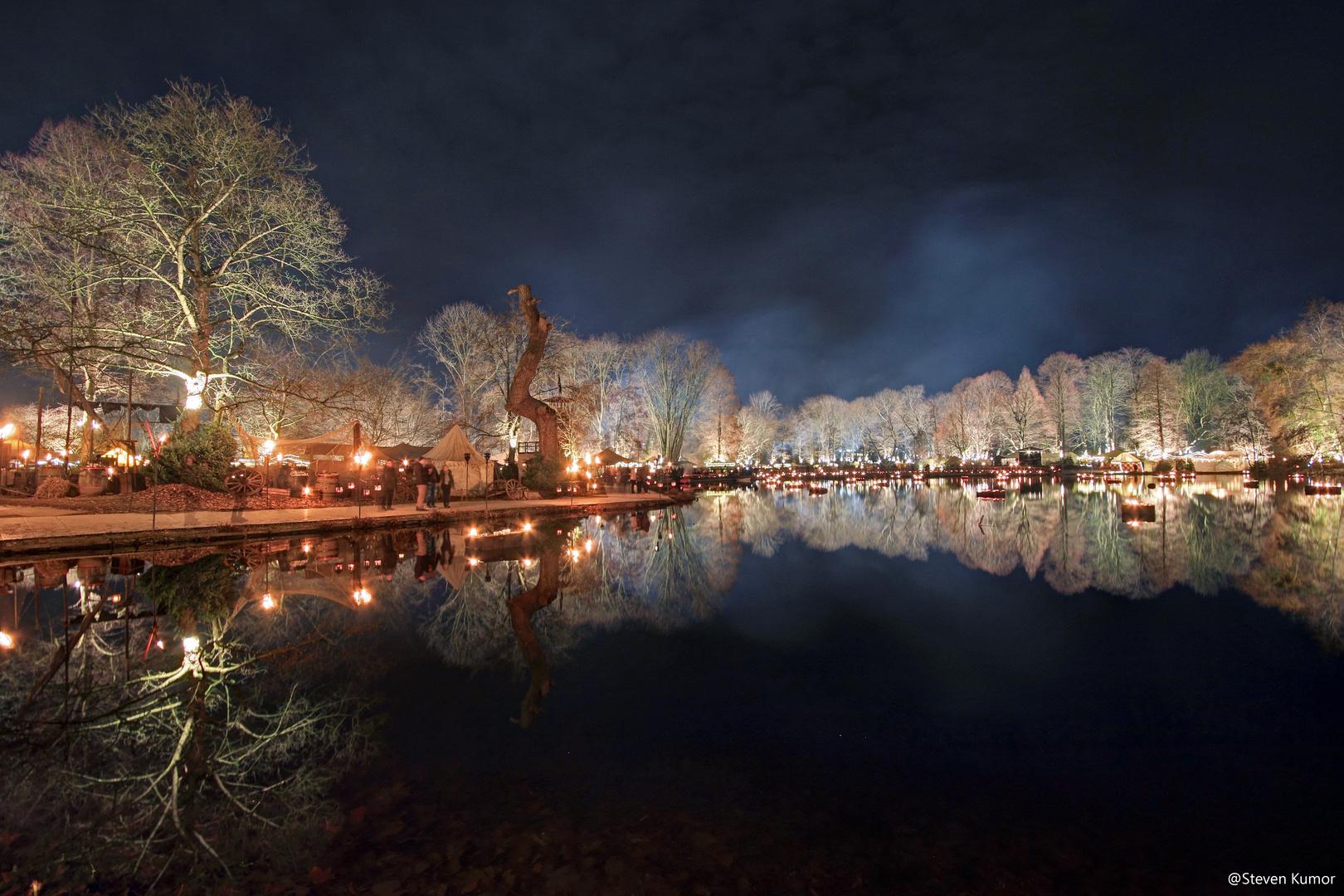 Mittelalterlicher Wintermarkt, am Fredenbaumpark