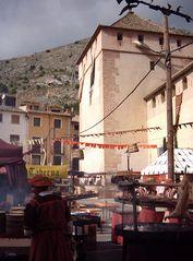 Mittelaltermarkt in Spanien