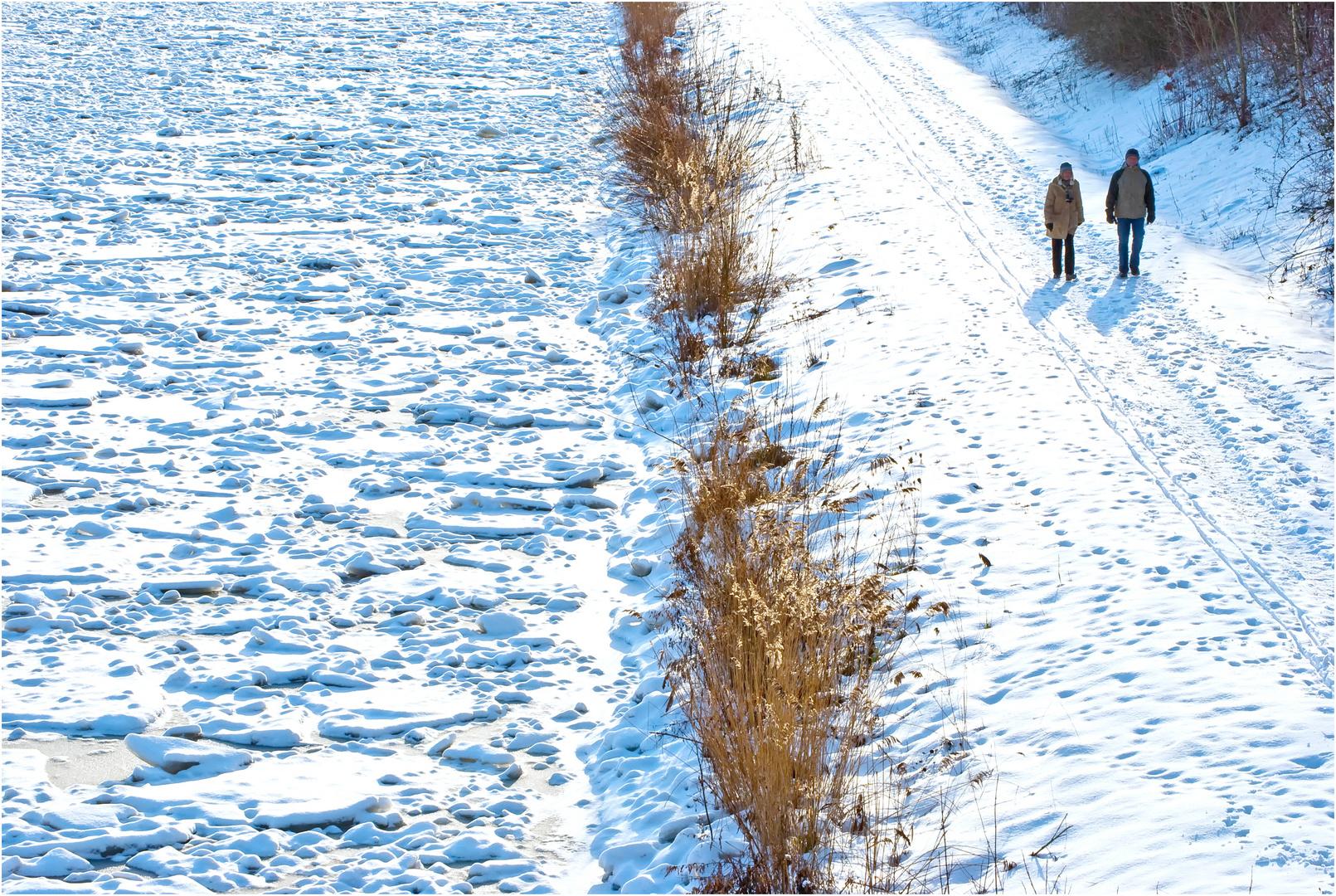 Mittellandkanal Winter 2010