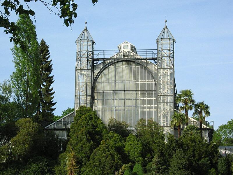 Mittelmeerhaus des Botanischen Gartens Berlin