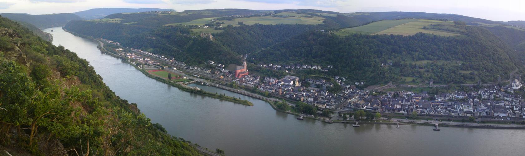 Mittelrheintal Kaub - Oberwesel