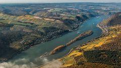 Mittelrheintal nahe Lorch bis Bacherach