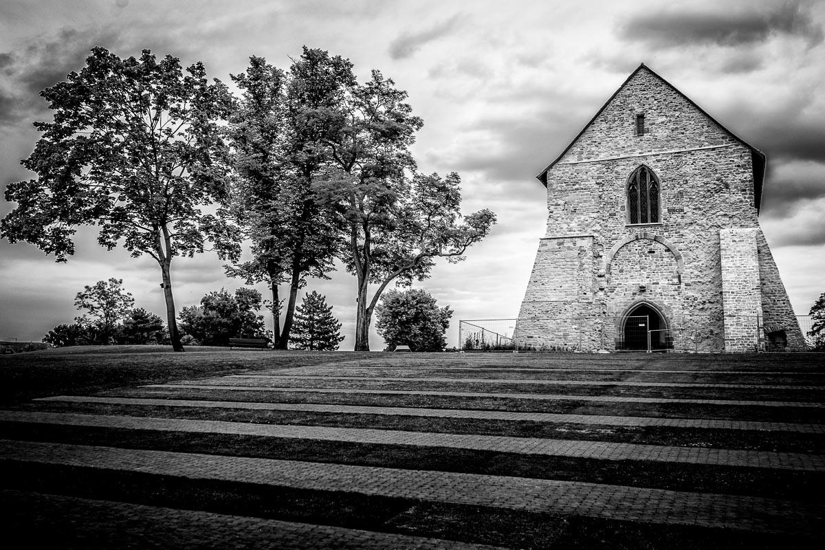 Mittelschiff der ehemaligen Klosterkirche in Lorsch