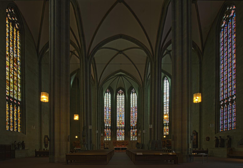 Mittelschiff der Wiesenkirche