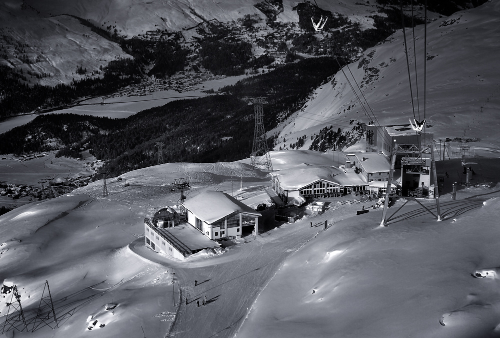 Mittelstation Corvatsch