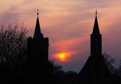 Mitteltorturm und Heiliggeistkirche