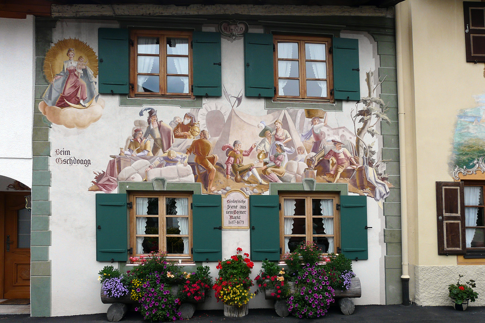 Mittelwald - eine besonders schönes Haus