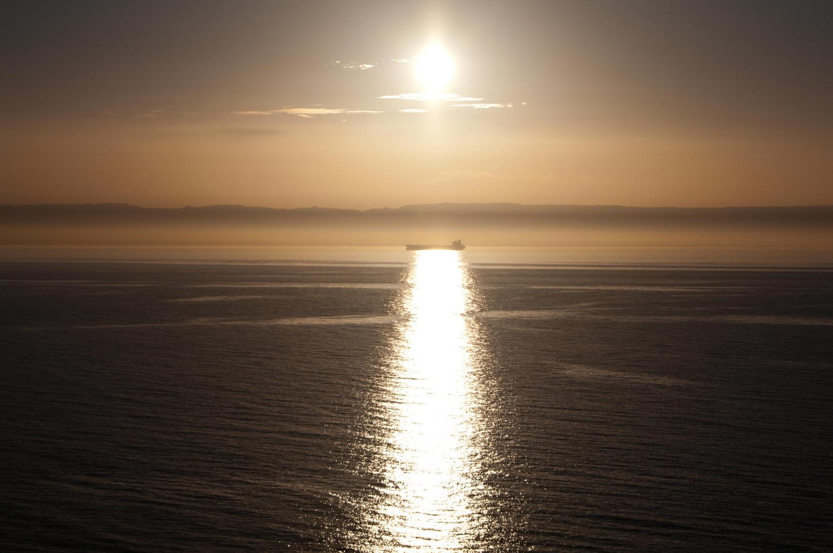 Mitten auf dem Roten Meer